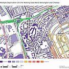 Multiple Deprivation Notting Dale ward, Kensington & Chelsea by ianturton