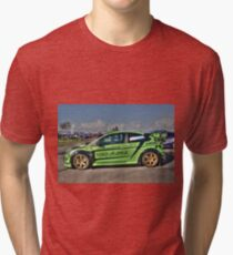 Green RS in HDR Tri-blend T-Shirt