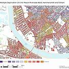 Multiple Deprivation Palace Riverside ward, Hammersmith & Fulham by ianturton