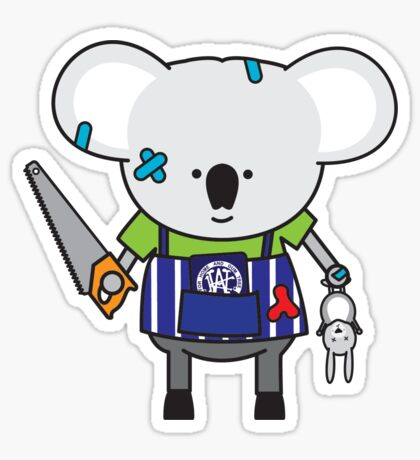 Kylie the Kitchen Hand Koala Sticker
