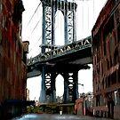 Manhattan Bridge by saleire