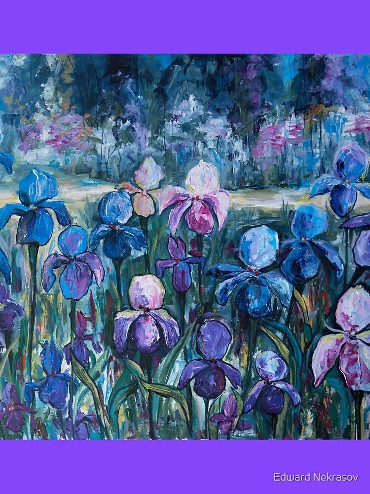 Irises by Sadykova