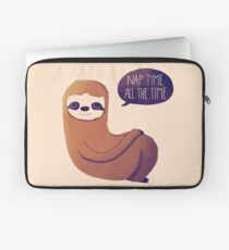 Nap Time, All The Time Laptop Sleeve