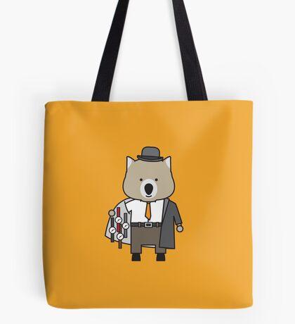 Warren the Watch Salesman Wombat Tote Bag