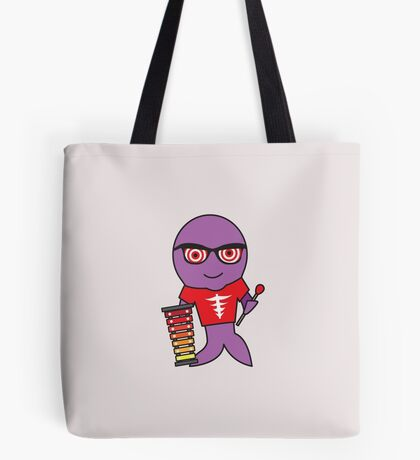 Xavier the Xylophonist X-Ray Tetra Tote Bag