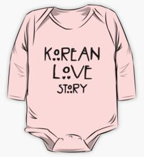 """Korean love story"" - For drama lovers. One Piece - Long Sleeve"