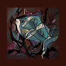 NEON FISH  by DeyanaDeco