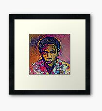 Abstract Because The Internet Framed Print