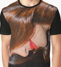 Salma Hayek - Virtical Art Graphic T-Shirt