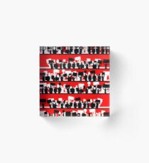 protest march Acrylic Block