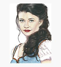 Belle French - OUAT art Photographic Print