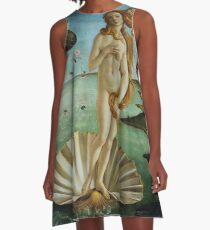 The Birth of Venus by Sandro Botticelli (1486) A-Line Dress