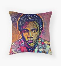 Abstract Because The Internet Throw Pillow