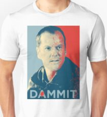 Jack Bauer from 24 in Dammit T-Shirt