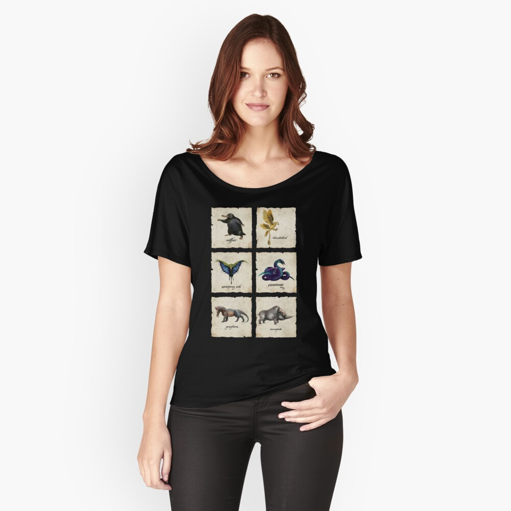 Awesome Creaturess Women's Relaxed Fit T-Shirt Front