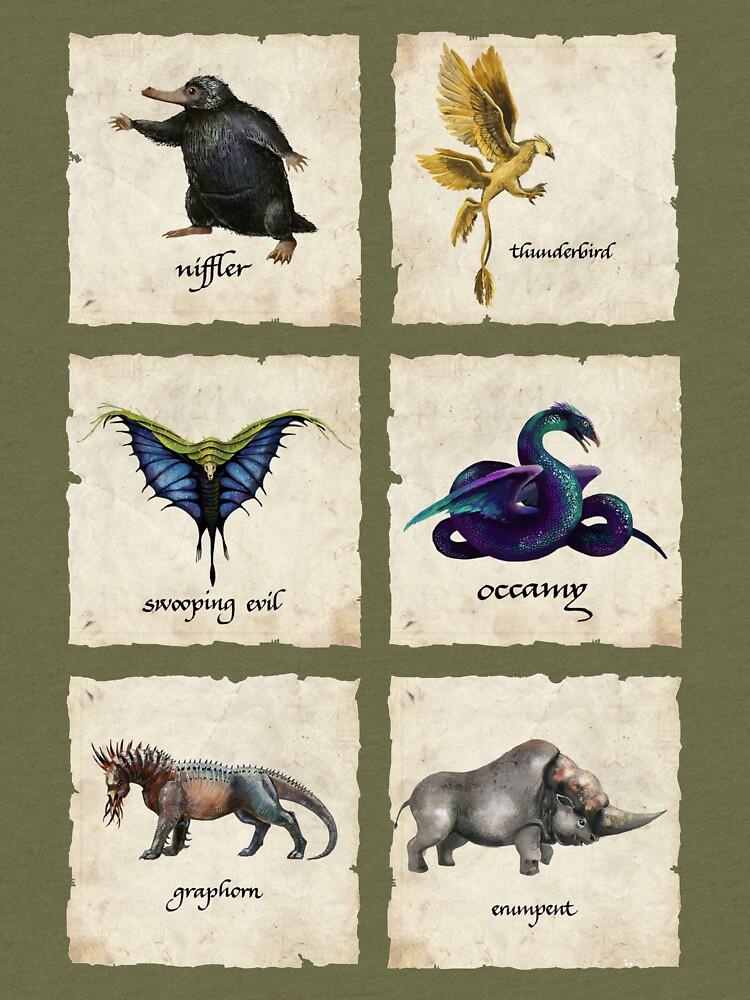 Awesome Creaturess by crammyboyy