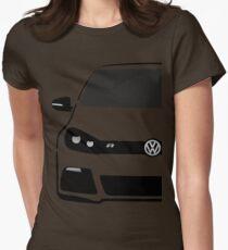 VW MK6 R Half Cut Womens Fitted T-Shirt
