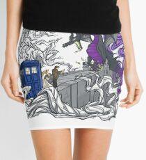 tardis dragon Mini Skirt