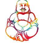Tie-Dye Buddha by Catherine Isla
