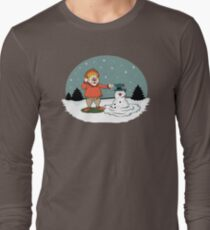 Heat Miser Melts Frosty The Snowman Long Sleeve T-Shirt