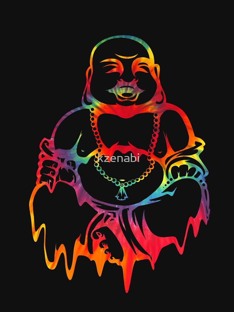 Melting Tie-Dye Buddha by kzenabi