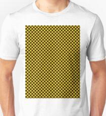 Mosaic yellow black Unisex T-Shirt