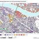 Multiple Deprivation Riverside ward, Southwark by ianturton