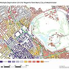 Multiple Deprivation Regent's Park ward, Westminster by ianturton