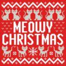 Meowy Christmas by DetourShirts