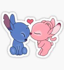 Dessin Disney Stitch Et Angel