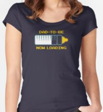 Dad To Be Women's Fitted Scoop T-Shirt