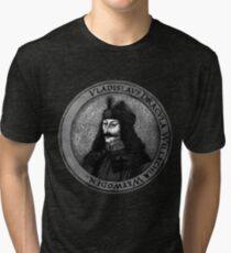 Vlad Dracula Tepes The Impaler Vampire Tri-blend T-Shirt