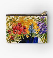 BEAUTIFUL FLOWER ART Studio Pouch