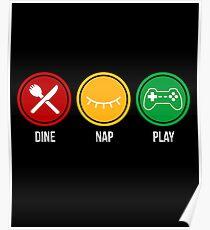 Eat Sleep Game  Poster