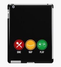 Eat Sleep Game  iPad Case/Skin