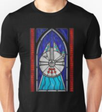 Stained Glass Series - Falcon Unisex T-Shirt