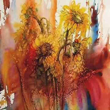 Sunflowers by klozowski