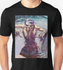 Zombie emerging from a lake T-Shirt