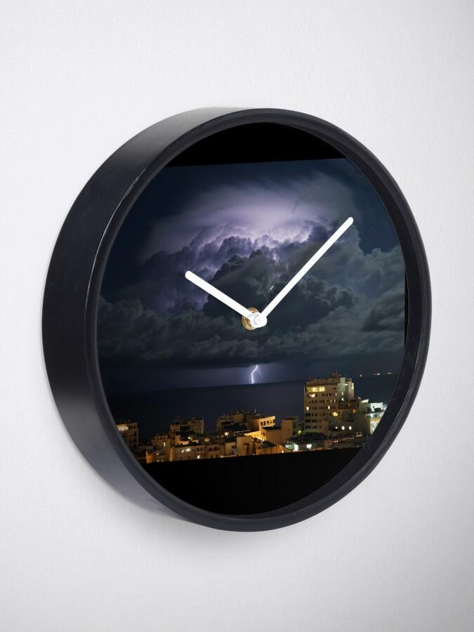 Alternate view of Lightning Bolt Clock