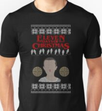 Eleven Days of Christmas - Stranger Things T-Shirt