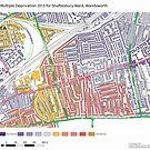 Multiple Deprivation Shaftesbury ward, Wandsworth by ianturton
