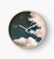 Moody Blue Clock