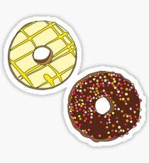 Donuts like Chocolates Sticker