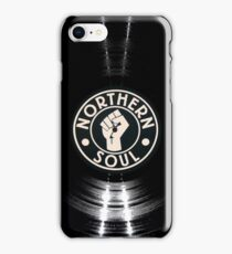 Northern Soul Vinyl  iPhone Case/Skin