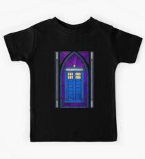 Stained Glass Series - TARDIS Kids Clothes