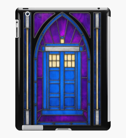 Stained Glass Series - TARDIS iPad Case/Skin