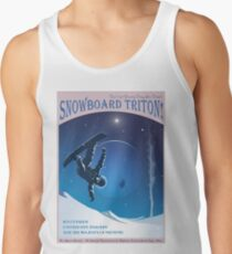 Space Travel Poster - Snowboard Triton! Tank Top