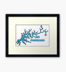 Lake Cumberland Kentucky Framed Print