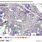 Multiple Deprivation South Bermondsey ward, Southwark by ianturton