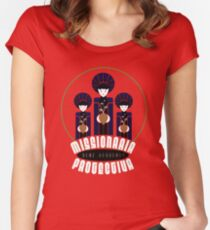 Missionaria Protectiva Mug Women's Fitted Scoop T-Shirt